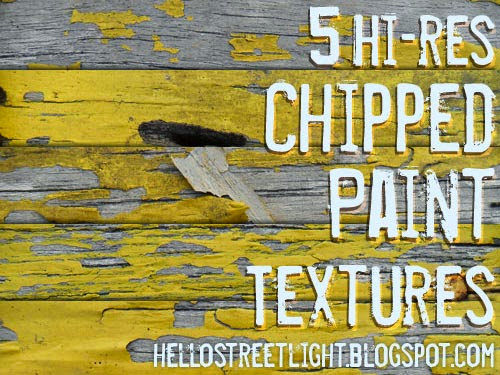 Free cracked and chipped paint textures