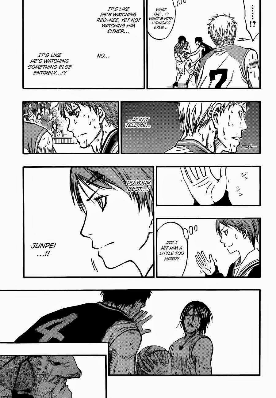 Kuroko no Basket Manga Chapter 258 - Image 09