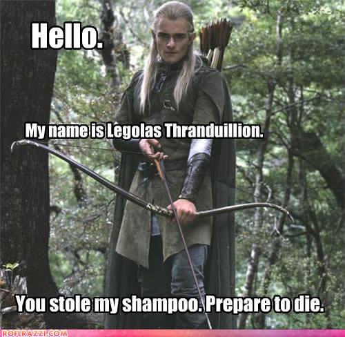 Legolas Funny Funny Legolas Quotes. ...