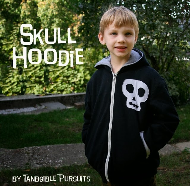 Tangible Pursuits: Skull Hoodie