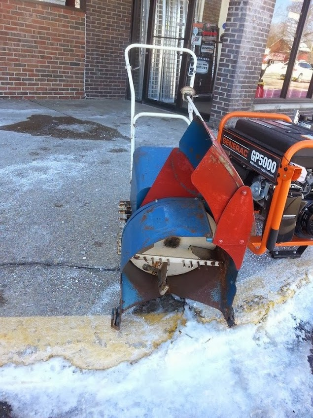 Snow Blower Found : What brand model snowblower is this forum