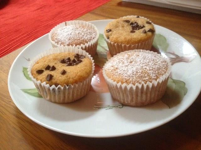muffin alla purea di mele e cannella!