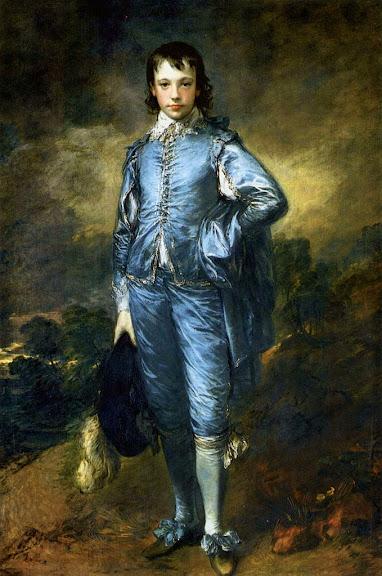 Thomas Gainsborough - The Blue Boy, Portrait of Jonathan Buttall