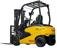 Xe nâng điện 4 bánh TCM