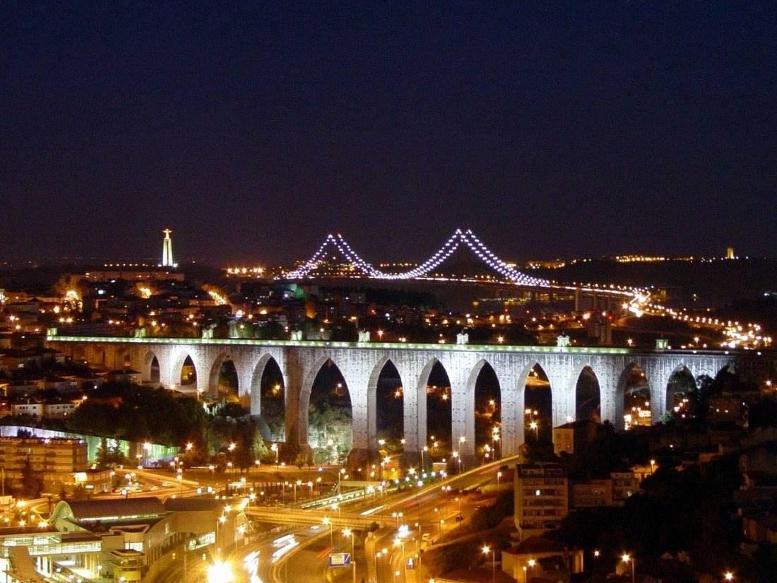 Лиссабон, Акведук свободной воды. Aguas Livres Aqueduct