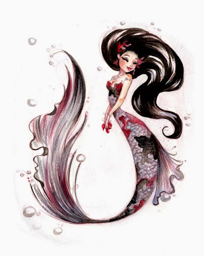 Mermaid Tattoos art