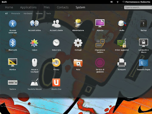Bolt per Gnome Shell