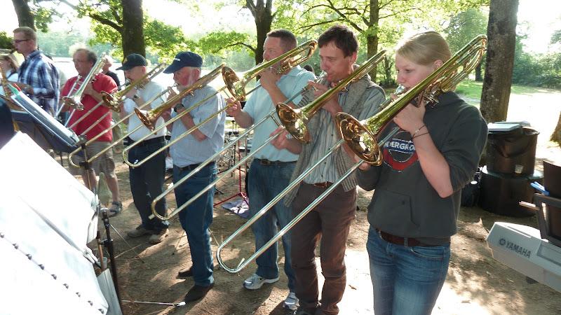 Image : Au BORDAGE de St Macaire  avec le Blasorchester en 2011