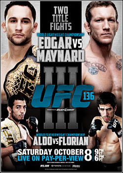 Download UFC 136:Edgar Vs. Maynard III RMVB + AVI HDTV