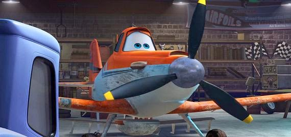 Screen Shot Of Hollywood Movie Planes (2013) Download And Watch Online Free at Alldownloads4u.Com