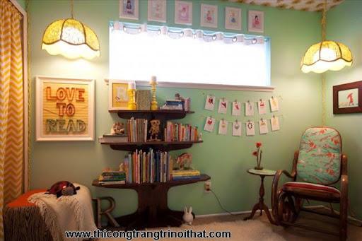 Phòng ngủ đẹp dành cho bé gái, bé trai - <strong><em>Thi công trang trí nội thất</em></strong>-5