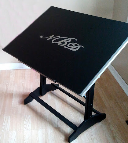 Drafting Table Makeover