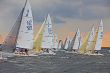 J/80 international one-design sailboat- sailing regatta