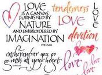 Kata Cinta Beserta Gambar Katakan Cinta