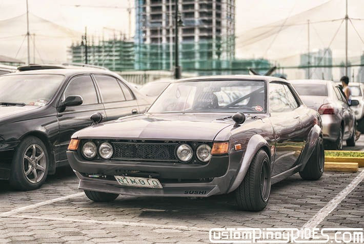 Old School Toyota Celica by Sushi Machine Custom Pinoy Rides Car Photography Manila Philippines Philip Aragones pic1