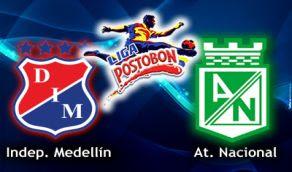 Medellin Nacional online vivo clasico Paisa 6 Nov Horarios