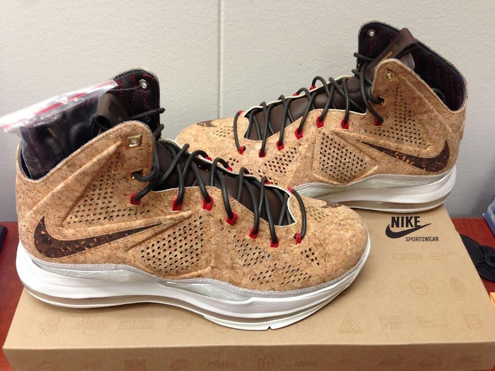 720e088d3cab6 LEBRON X Corks Might Be Available Earlier Than Expected | NIKE ...