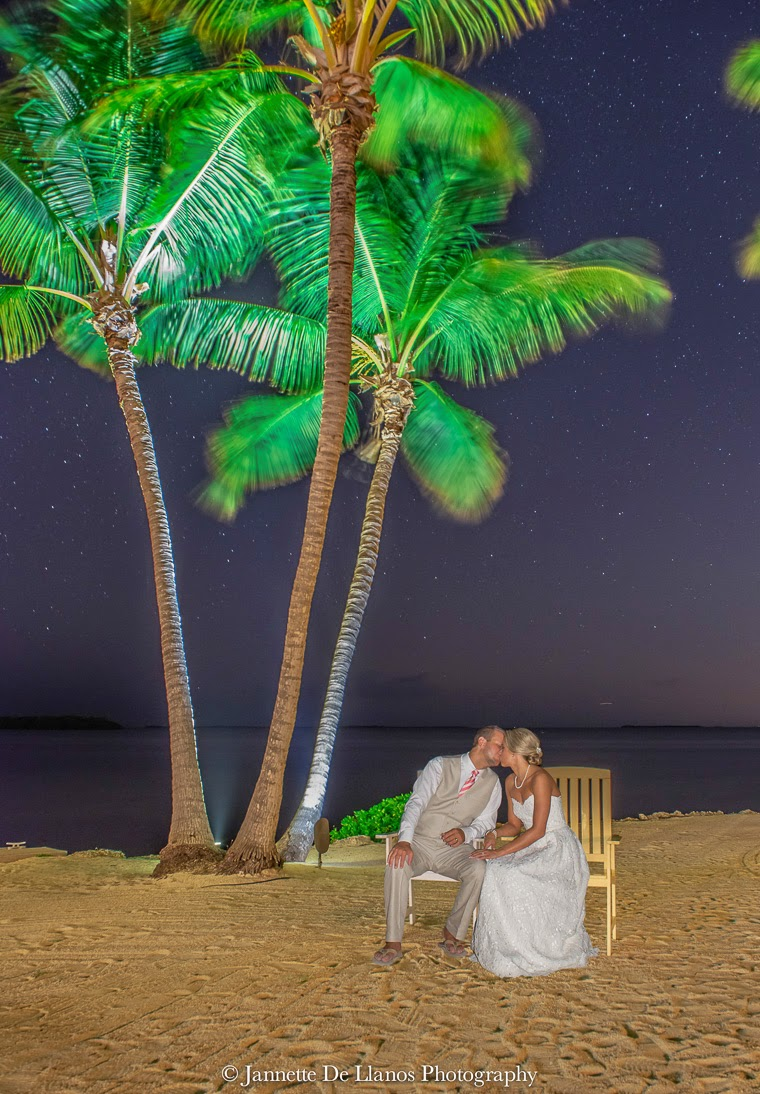 Elegant Florida Keys beach wedding, Key Largo Lighthouse Beach