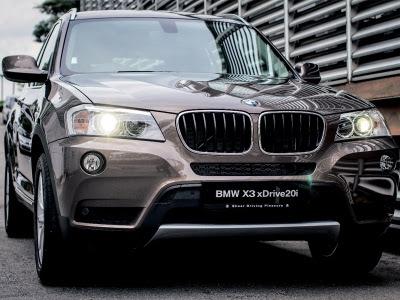 BMW perkenal siri baru X3