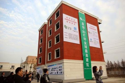 3D列印別墅和五層樓房亮相,建築成本可節省50%