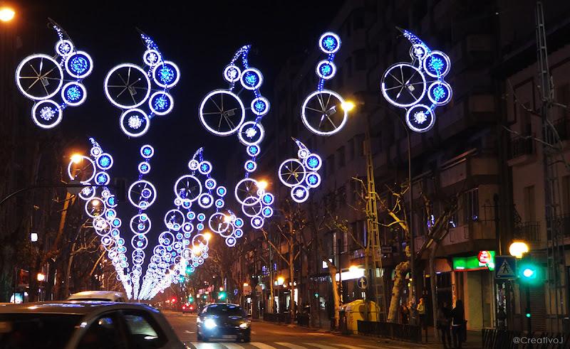 luces navidad, ronda de los tejares, córdoba, españa, navidad, festividad, decoración navideña