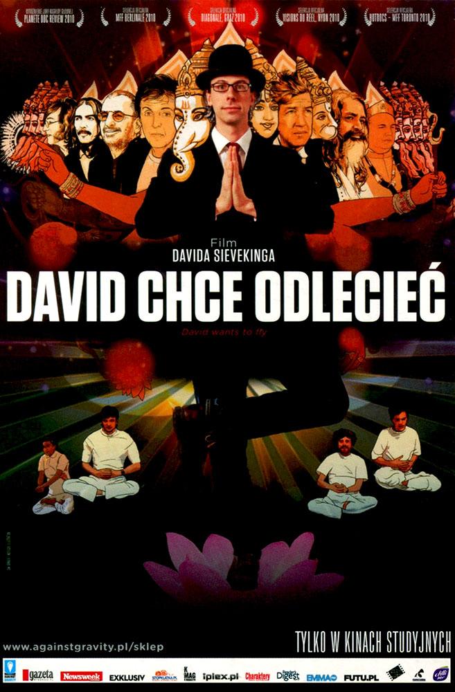 Ulotka filmu 'David Chce Odlecieć (przód)'