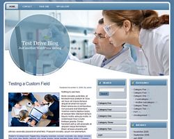Pharmacy WP Theme