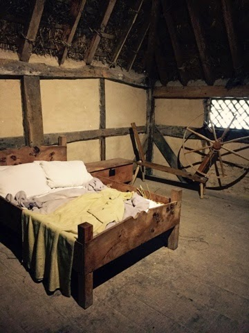 bedroom at Weald and Downland Open Air museum