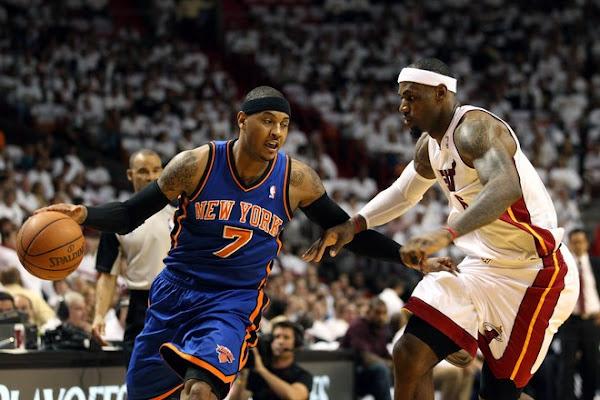 LeBron James Heat Rout Knicks Take 10 Series Lead