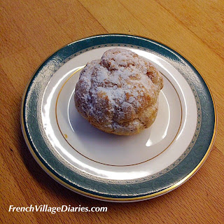 French Village Diaries patisserie boulangerie choux-vanille