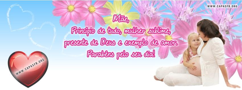 Capas para Facebook Dia das Mães