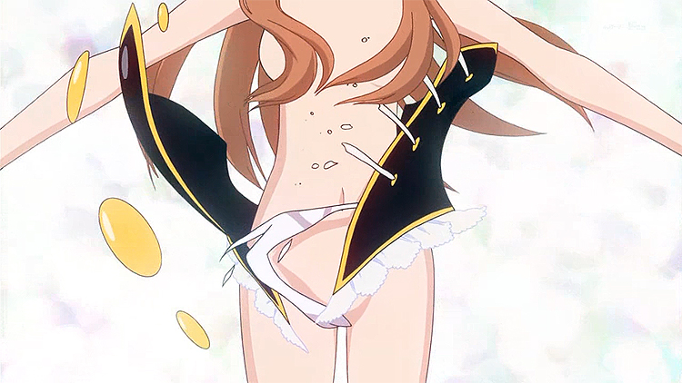 Mawaru Penguindrum Himari transformation sequence Nadine