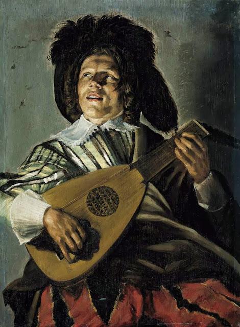 Frans Hals - Judith Leyster serenade