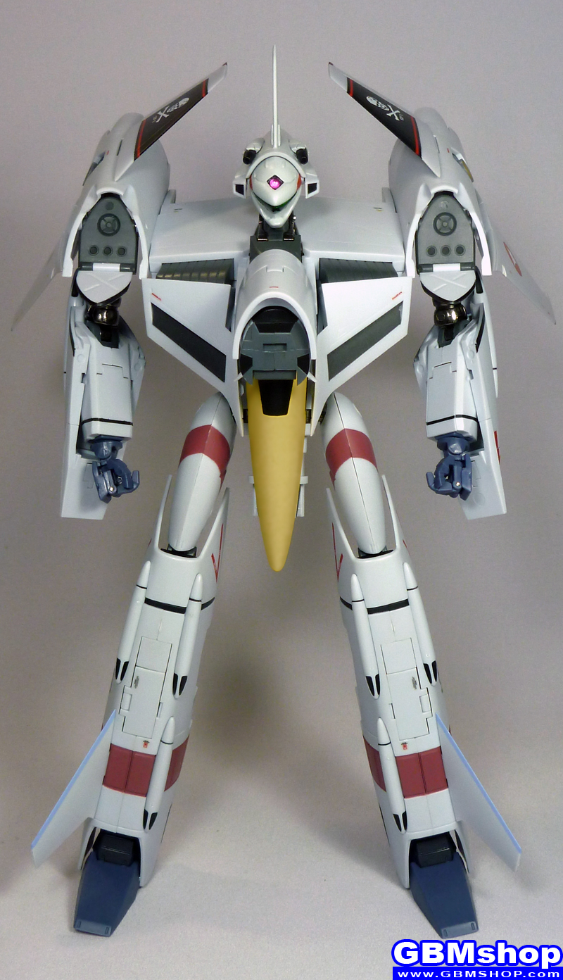 Macross Flashback 2012 VF-4 VF-4G Lightning III Commander Type Hikaru Ichijo Custom Battroid Mode