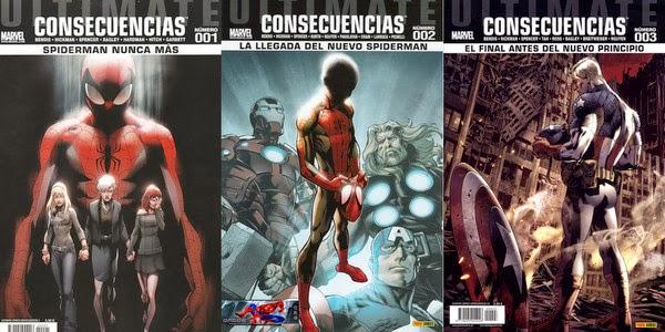 Spiderman - Ultimate Comics: Consecuencias [1-3][C�mic][Espa�ol]