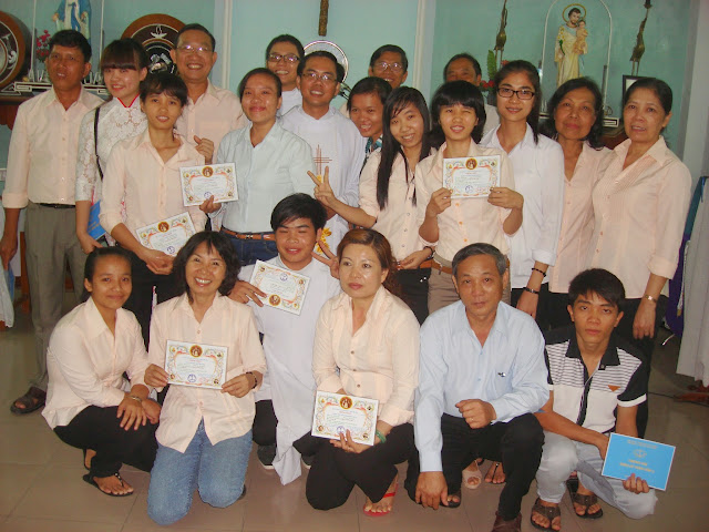 Thánh lễ kết thúc khóa GLV cấp II/2014 hạt Nha Trang