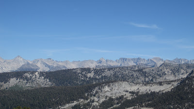 Farther back, Mt, Brewer and the peaks of Kings Canyon