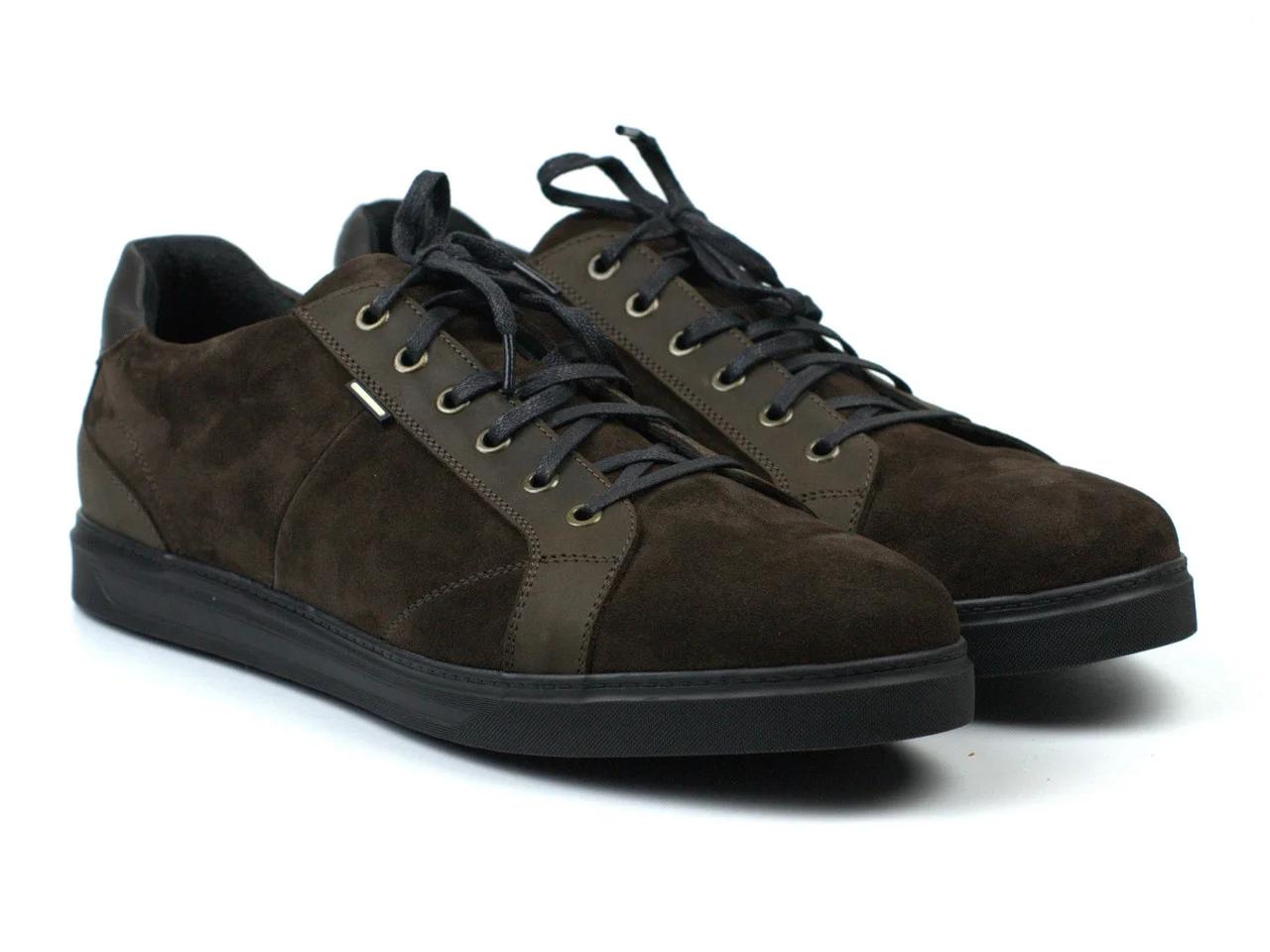 Коричневые кроссовки замшевые кеды мужская обувь больших размеров Rosso Avangard Puran Brown Vel BS Подробнее: