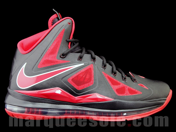14afc45f0f07 ... First Look at Nike LeBron X 10 in Black and Red With 6 ...