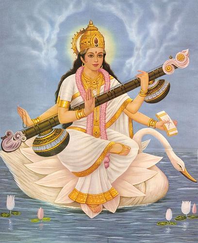 Goddess Sarasvati Image