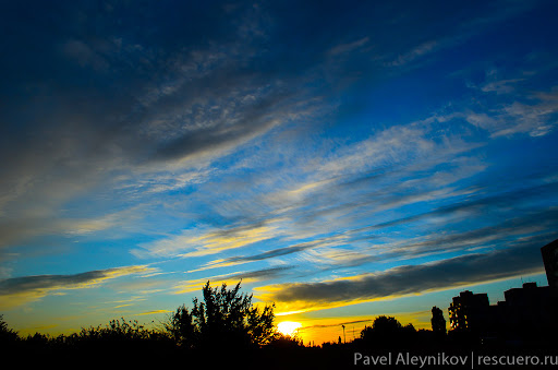Утреннее небо