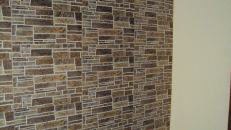 Wall makeover estimate: How much to clad or tile a wall? - dress ...