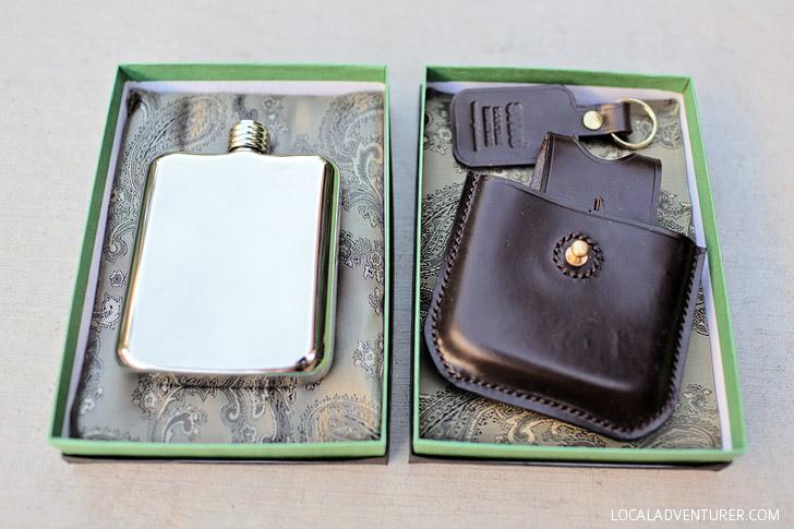 Swig Flask - Engraved Flasks for Men.
