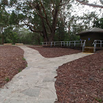 Toilet block at St Johns Lookout picnic area (225382)