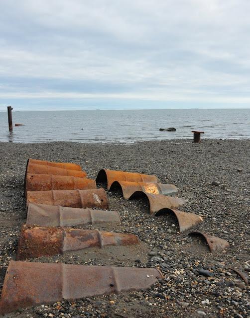 Beaufort Sea & Oil Barrels: July 30, 2010 - Mile 0