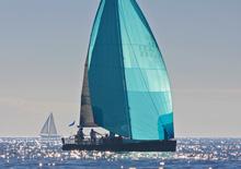 J/124 daysailer sailing Hot Rum San Diego