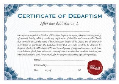 De Baptism Image