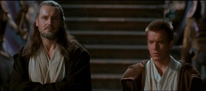 Screen Shot Of Hollywood Movie Star Wars: Episode I - The Phantom Menace (1999) In Hindi English Full Movie Free Download And Watch Online at alldownloads4u.com