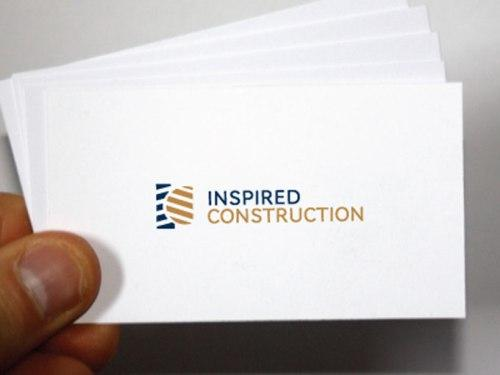 inspired construction business card