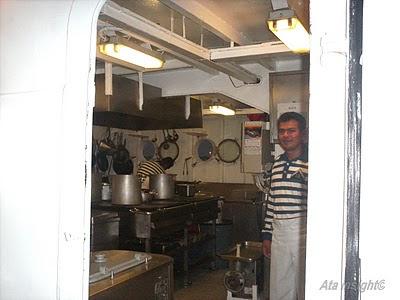 Cocina Fragata Libertad Argentina
